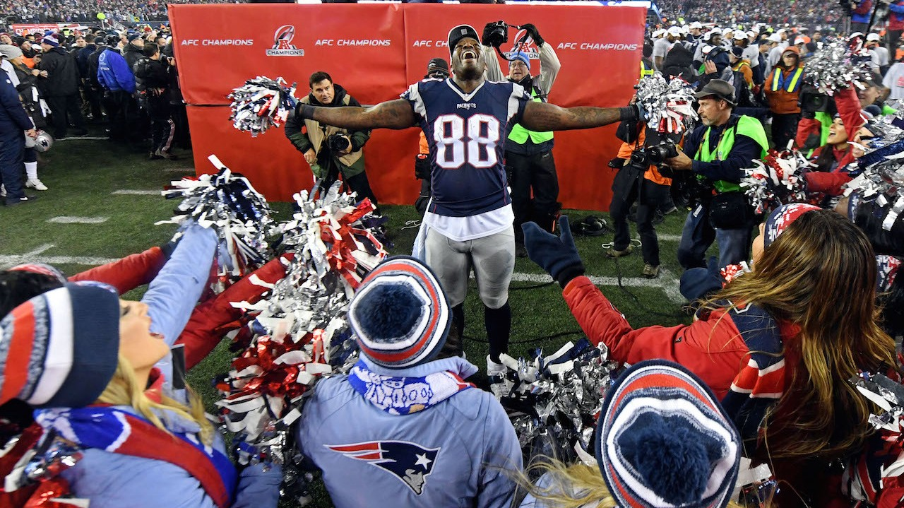 Martellus Bennett Calls the NFL Celebration Training Video What it Is: A Joke