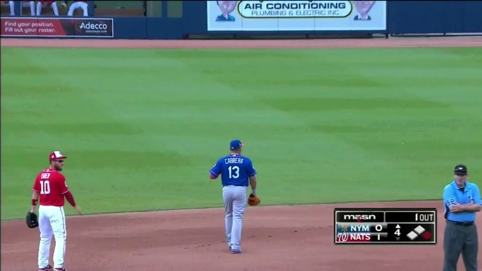 Asdrubal Cabrera Got Ejected and Took For-ev-er to Leave the Field