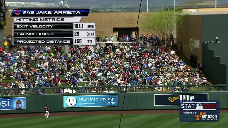 Jake Arrieta Hit the Longest Home Run Ever (For a Pitcher)