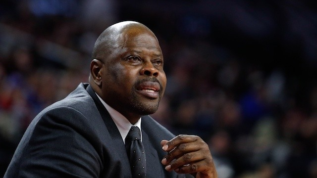 Report: Patrick Ewing Being Considered for Head Coaching Position at Georgetown