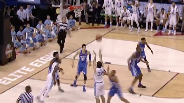 This UNC vs. Kentucky Game Couldn't Have Ended In Any Other Way But Sheer Insanity