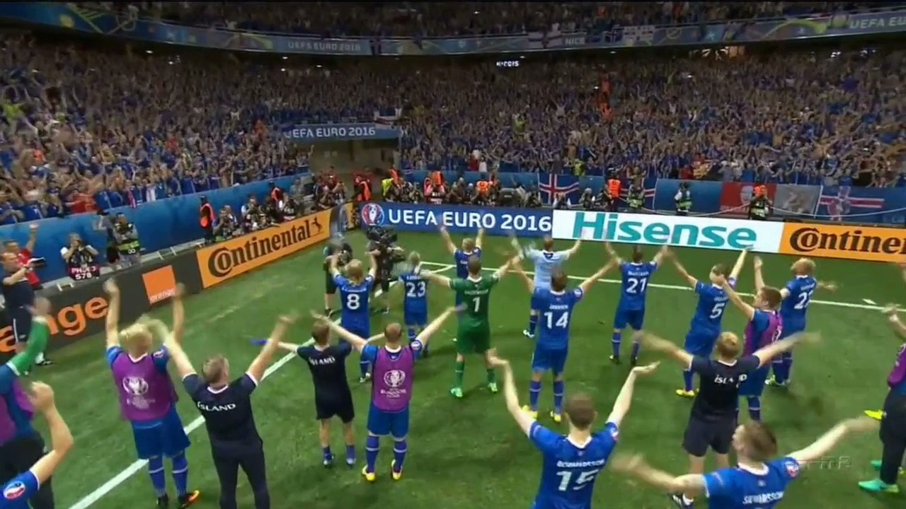 Icelandic Couples Made Thunder (Thigh) Clap After Beating England in Soccer Nine Months Ago, Now There Are Babies