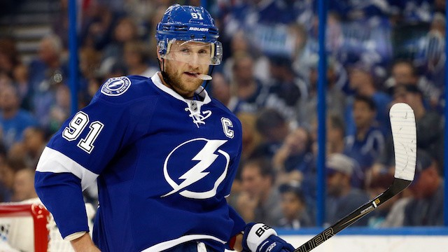 Steven Stamkos May Be Coming Back with Just Enough Time to Save the Lightning's Season