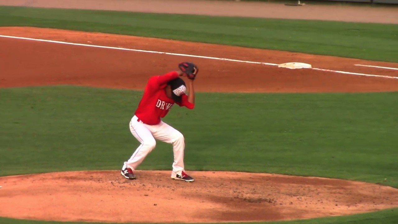 Look at this Wacky Delivery from a Red Sox Pitching Prospect