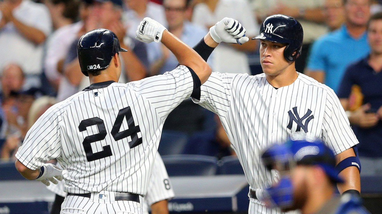 Gary Sanchez, Greg Bird, and Aaron Judge Are Here to Obliterate Baseballs for the Yankees