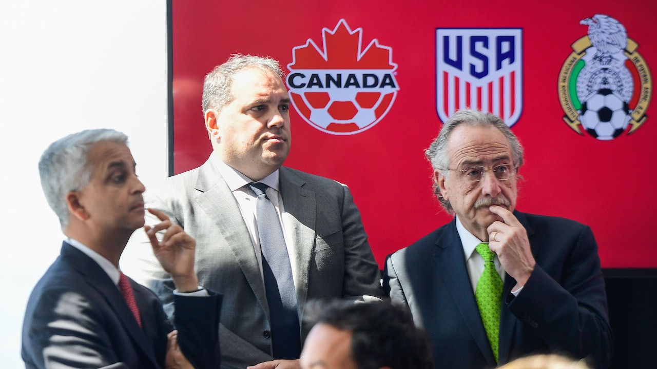 The 2026 World Cup Joint Bid: U.S. Hosts Normal World Cup While Mexico, Canada Get Scraps