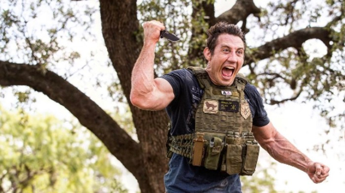 "After Trump Drops ""The Mother of All Bombs"" in Afghanistan, Tim Kennedy Re-Enlists in Army Special Forces"