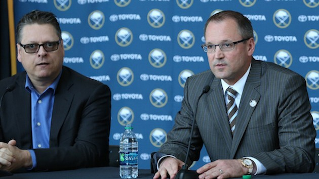 Dysfunctional Sabres Fire Coach and GM a Day After Jack Eichel Drama