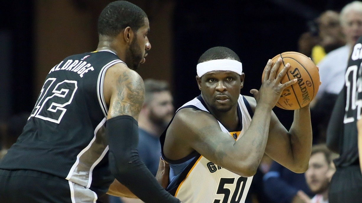 Starting Zach Randolph Won't Save This Series for the Grizzlies