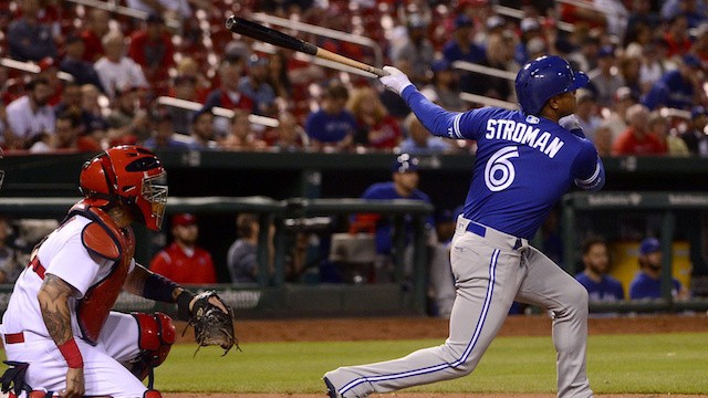 Marcus Stroman's Pinch-Hit Double Caps off Weird Night of Blue Jays Baseball