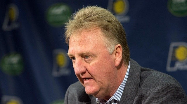 Report: Larry Bird Is Stepping Down as Pacers President