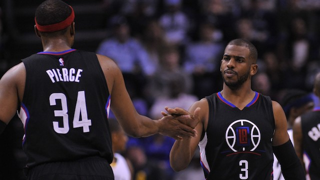 "Chris Paul To Paul Pierce, Mid-Game: ""You're Not Ending Your Career in Utah"""