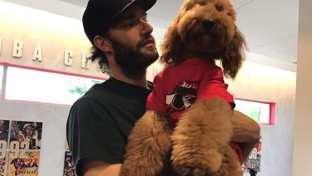 Robin Lopez Enlists Emotional Support of WonderPup Muppet for End of Season Interview