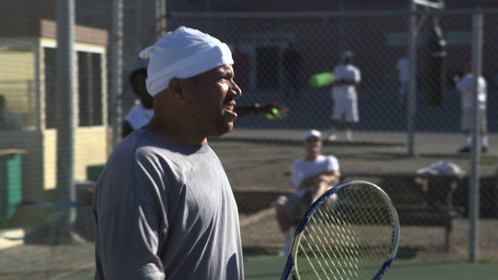 Tennis at San Quentin Prison