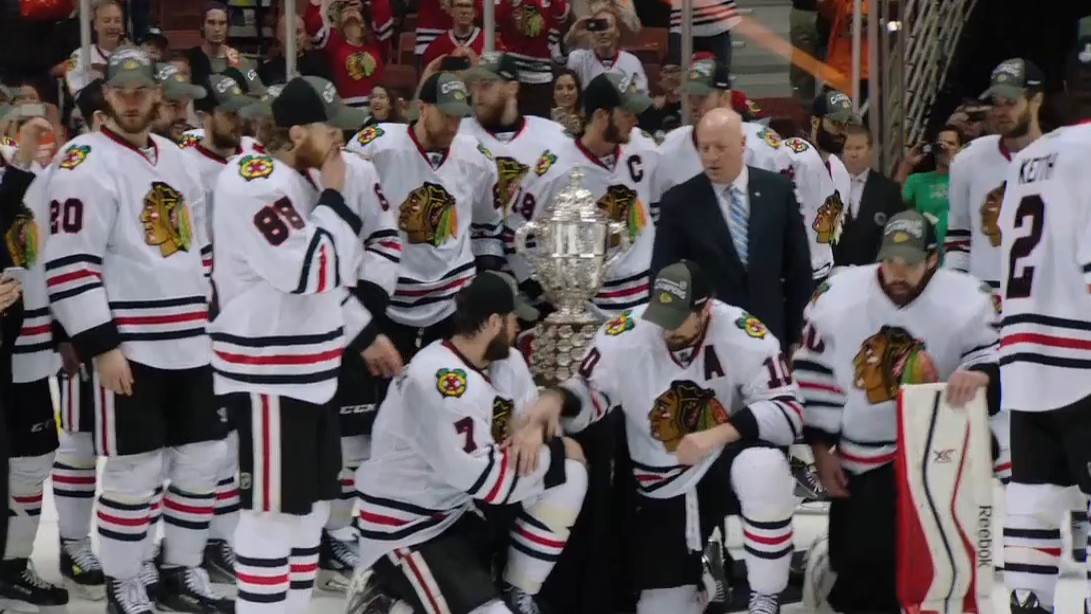 """""""You Gotta Believe Here"""":Mic'd Up At The Ducks Vs. Blackhawks Game"""