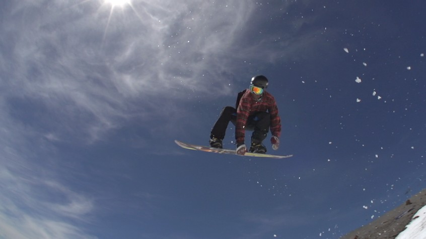 The Ugandan Snowboarder Gunning for the Olympics