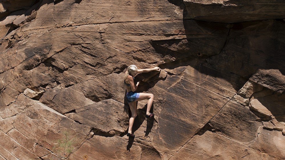 Free Climbing in Arizona with Sierra Blair-Coyle: The Moment