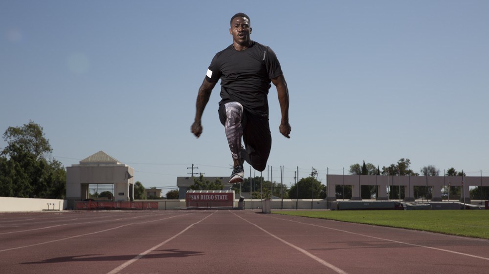 Triple Jump to Rio with Former Running Back David Wilson: The Moment