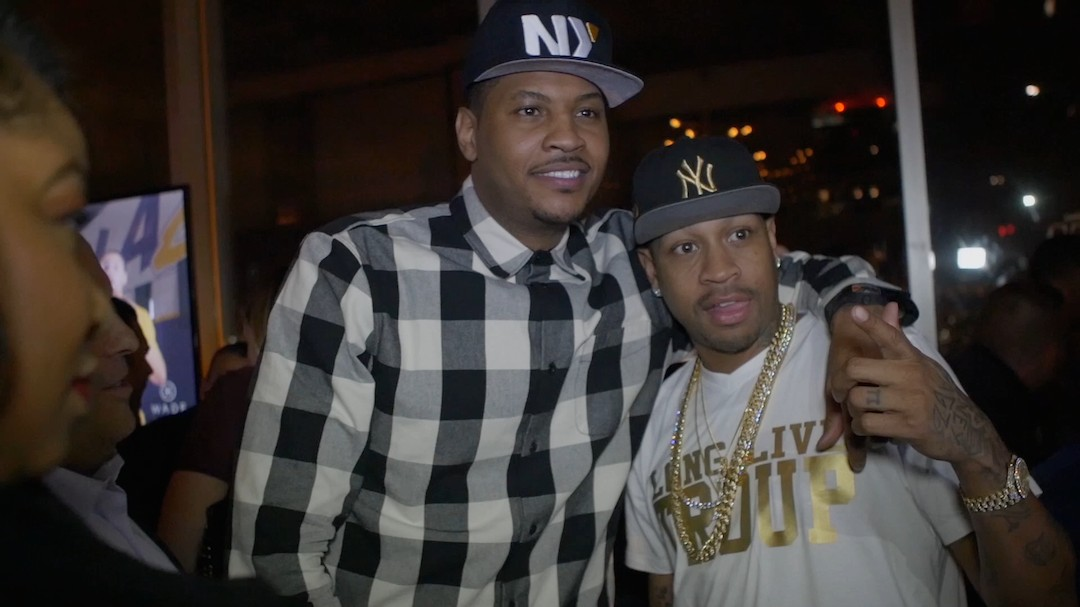 Stay Melo: Behind-the-scenes with Carmelo Anthony at All-Star Weekend