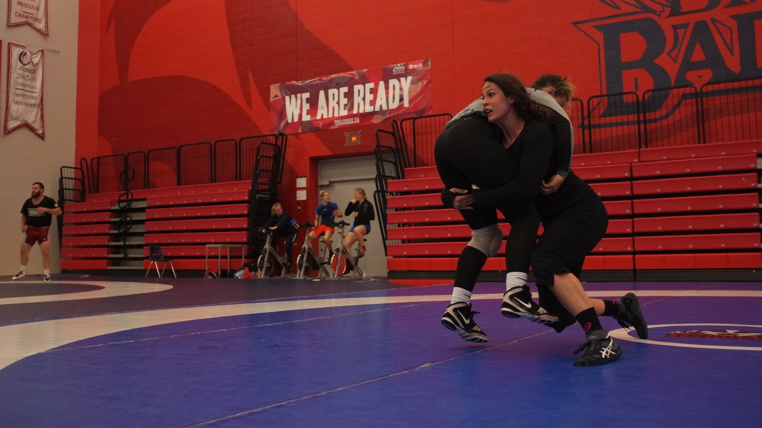 Training with USA's No.1 Ranked Female Wrestler: Adeline Gray