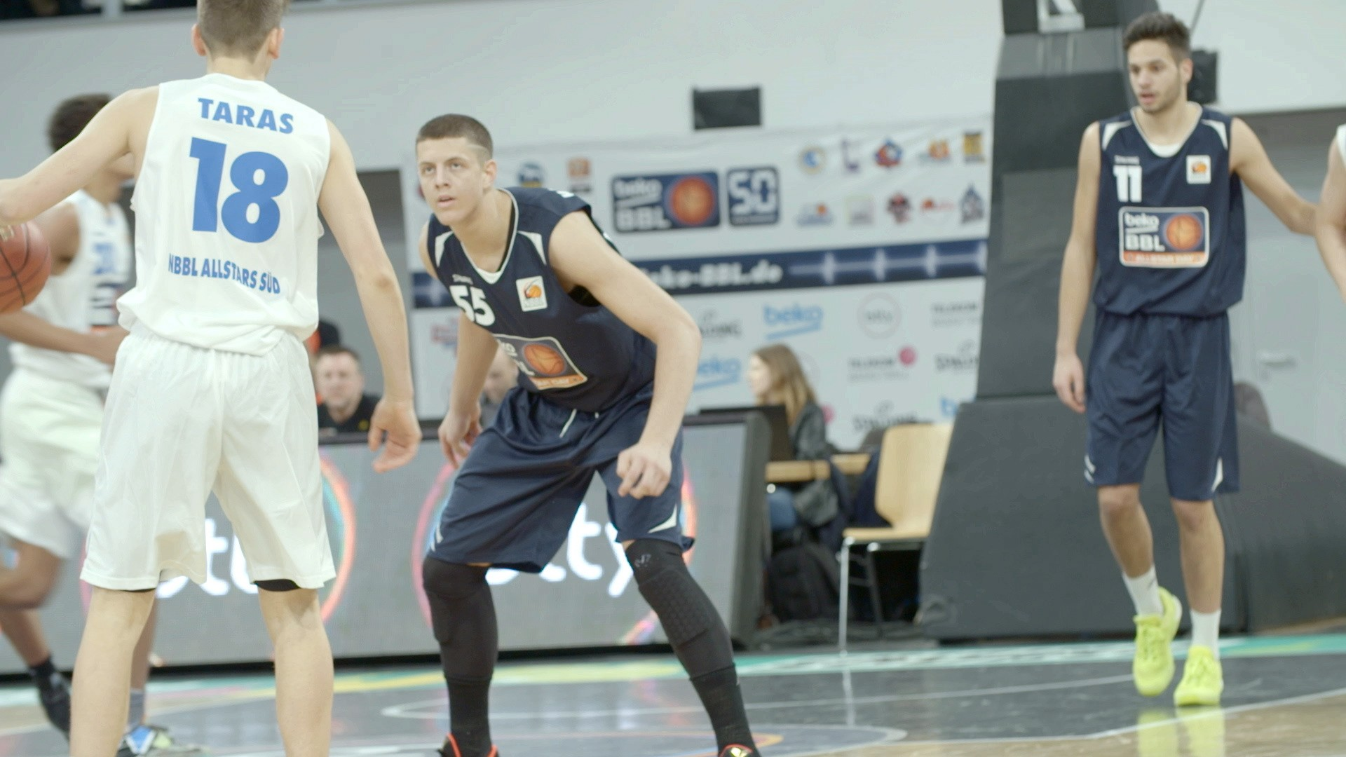 Meet the 17-year-old German Climbing NBA Draft Boards