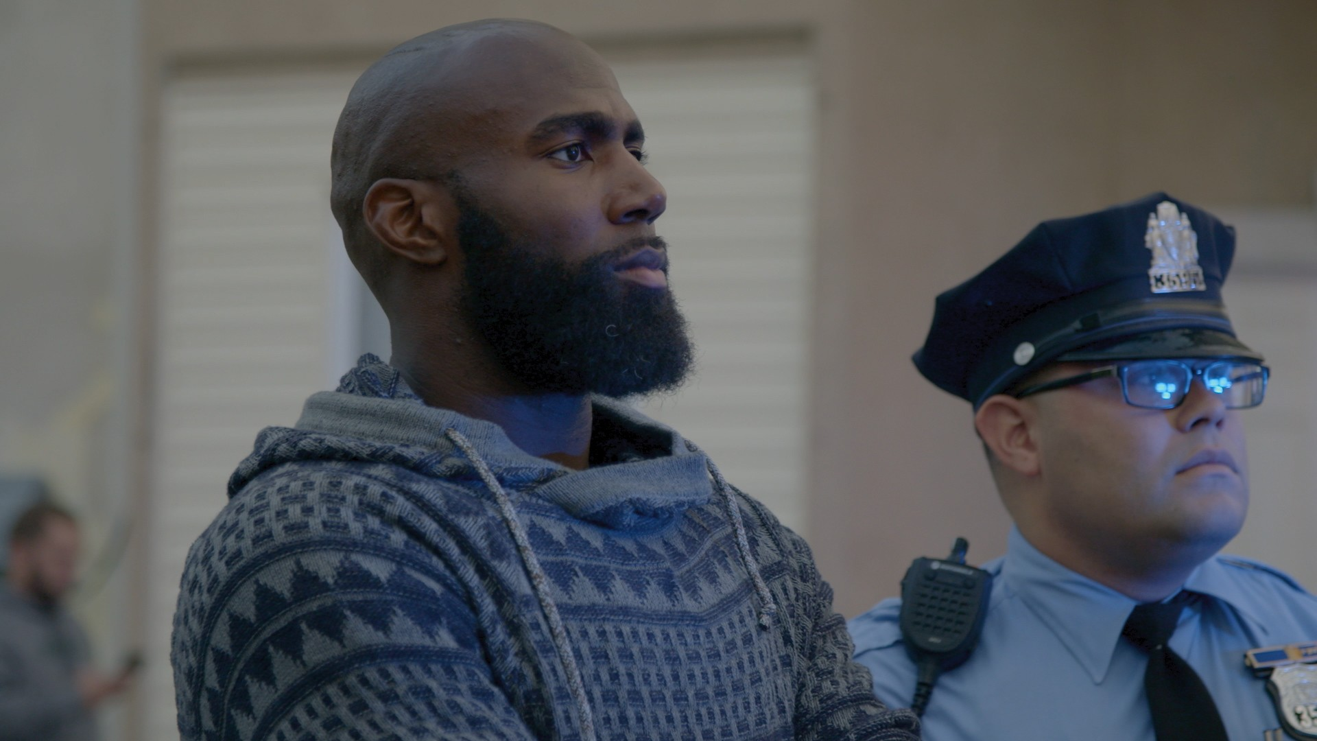 National Anthem Protestor Malcolm Jenkins Goes on a Ride Along with Philly PD
